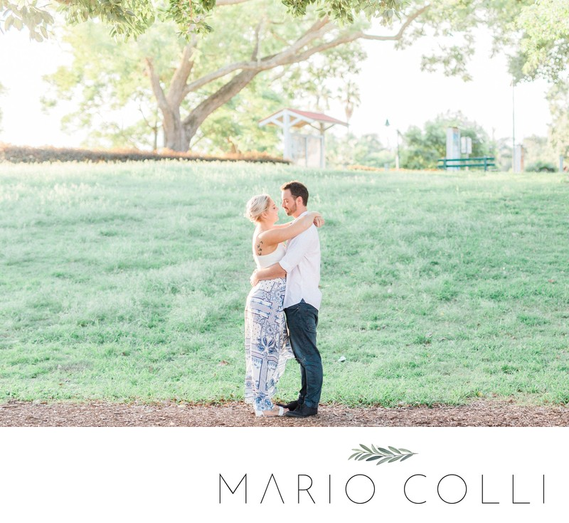 New farm park engagement brisbane photographer