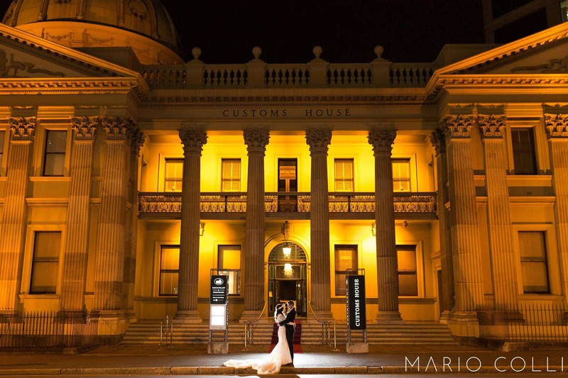 Night Portraits Brisbane Wedding Photos