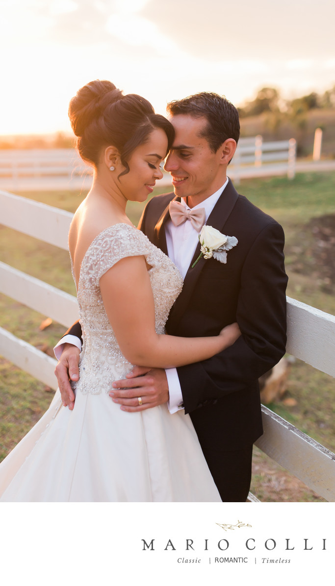Sunset brisbane wedding photo inspiration