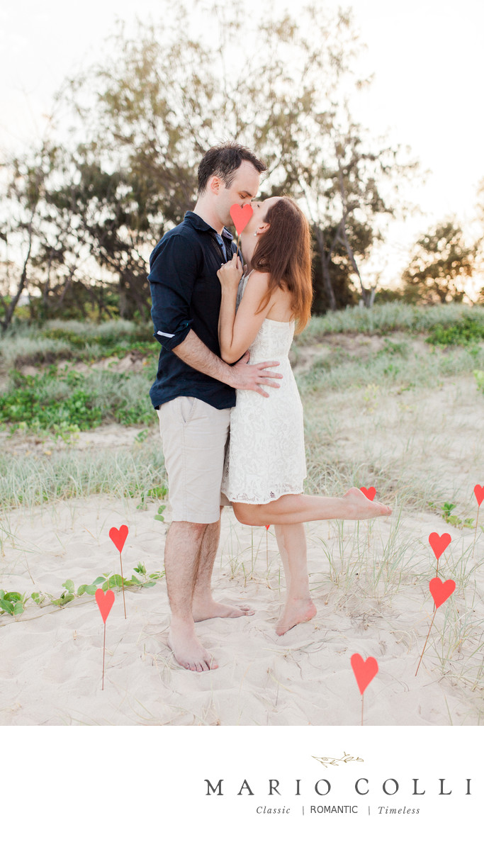 Sunshine coast engagement photo locations