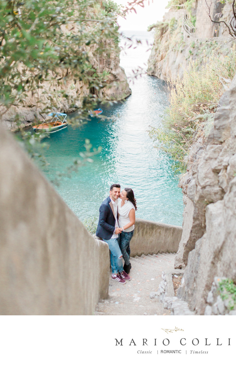 Amalfi Coast engagement shoot destination photographer