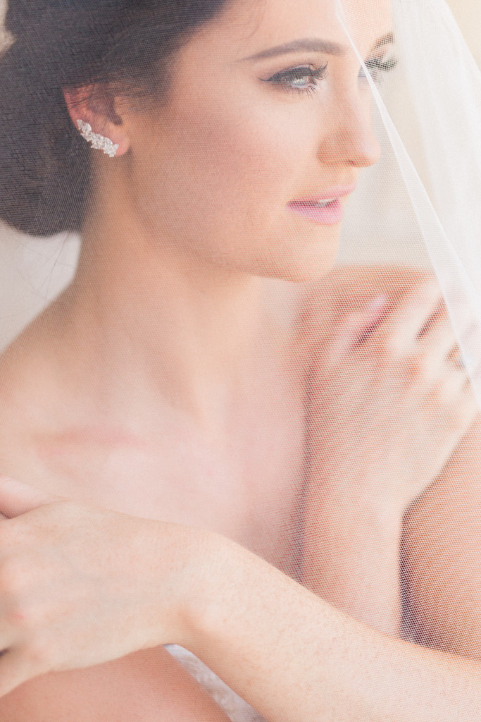 Soft Romantic Bridal Portrait