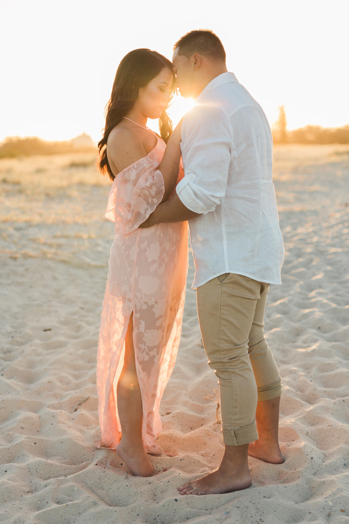 Gold Coast Beach Engagement shoot 4