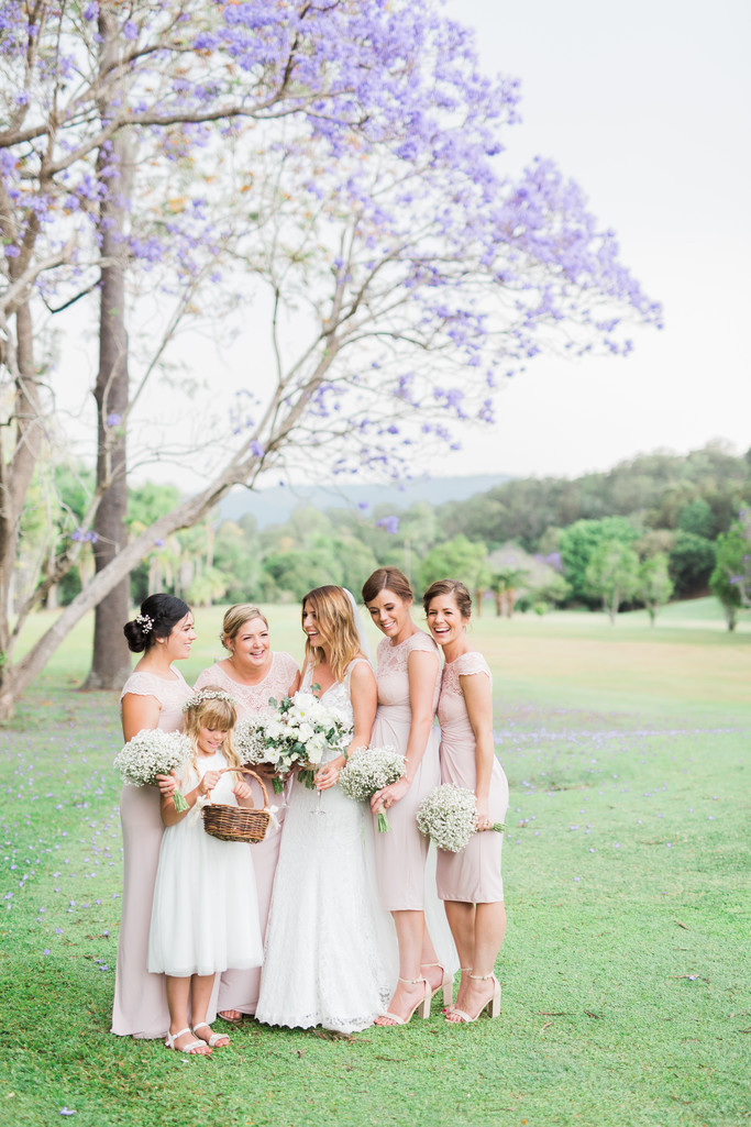Boomerang Farm wedding photos bridesmaid