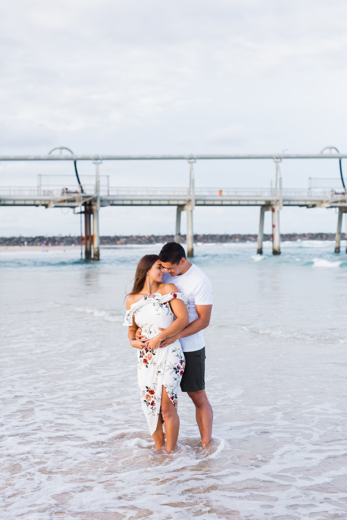 Gold Coast Beach Engagement Photos 2