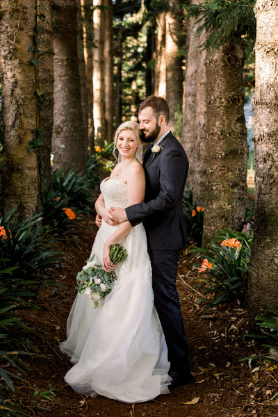 Montville Country Cabins Wedding Photographer