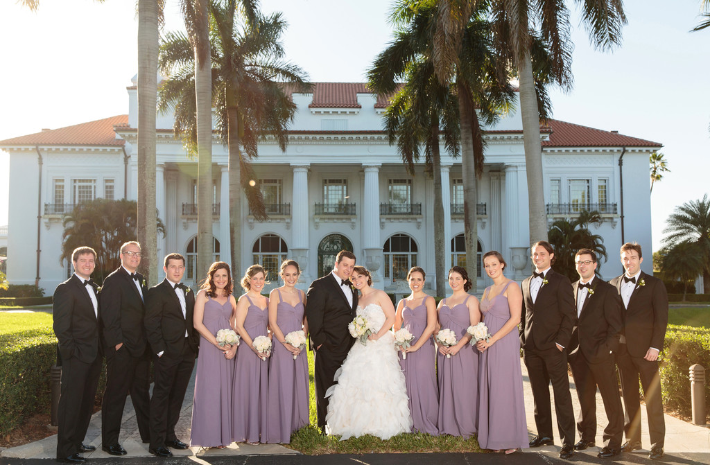 Flagler Museum Bridal Party