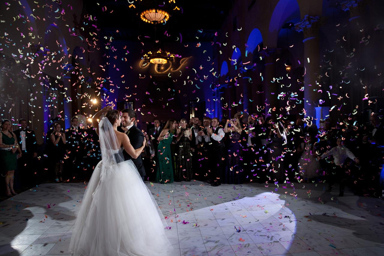Biltmore Hotel Wedding C Gables First Dance