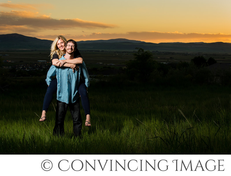 Engagement Photography in Cache Valley