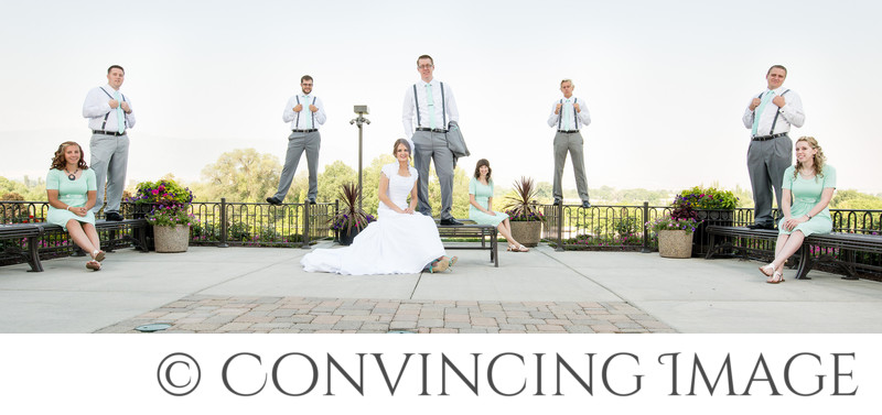 Wedding Bridal Party in Logan