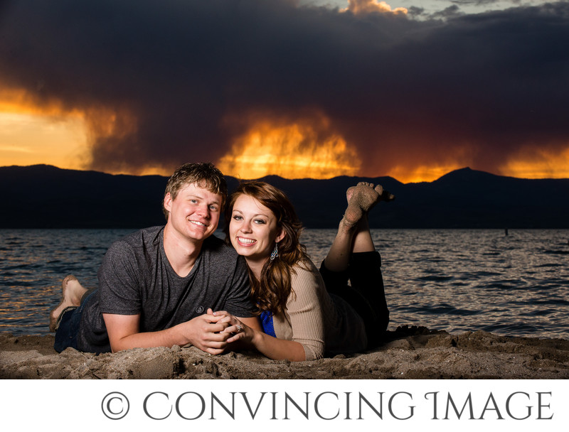 Engagement Photos at Bear Lake