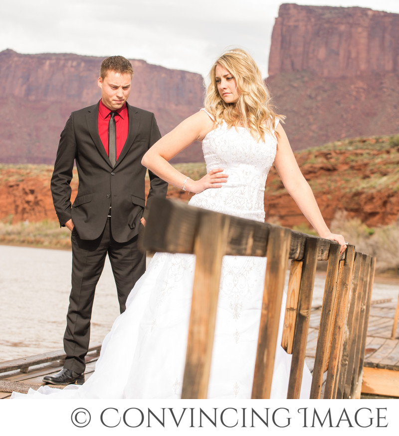 Moab Utah Formal Wedding Photographer