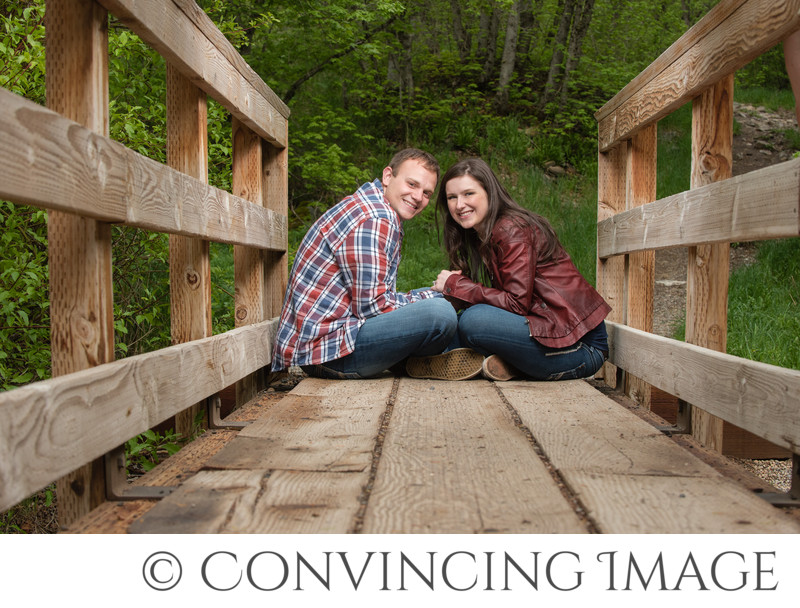 Logan Canyon Engagement Photographer