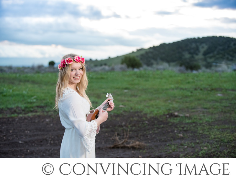 Cache Valley Senior Portraits