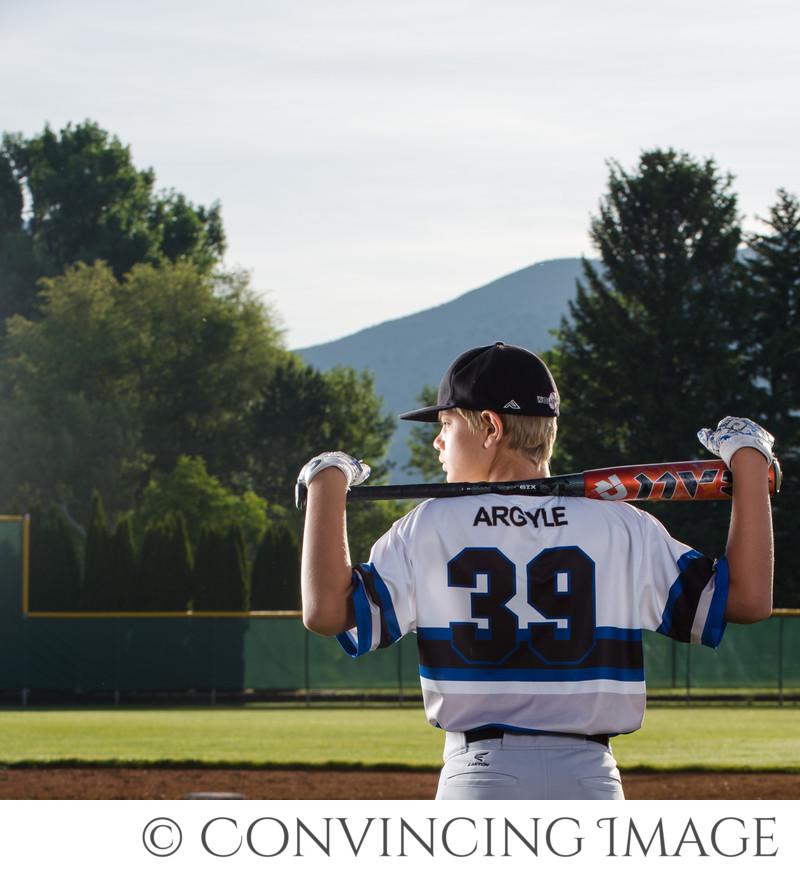 Cache Wolverines Baseball Photography