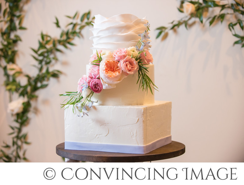 Logan Utah Wedding Cake Photographer