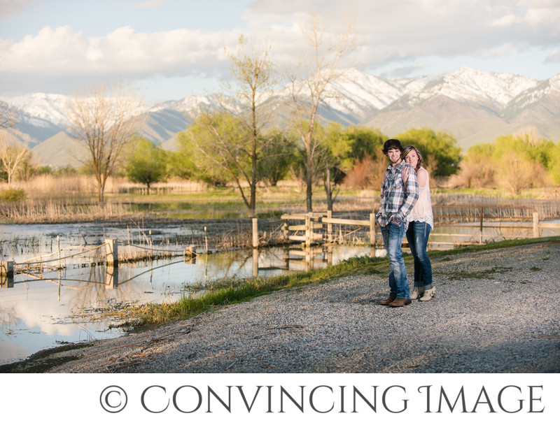 Cache Valley Utah Engagement Photographer
