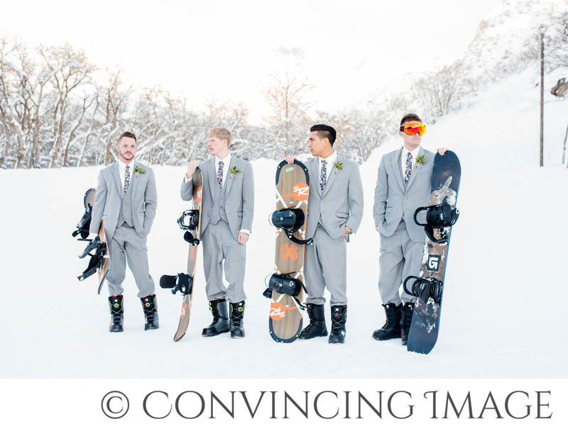 Richmond Utah Ski Resort Wedding