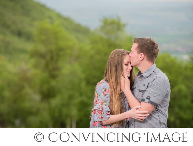 Cherry Peak Ski Resort Engagements