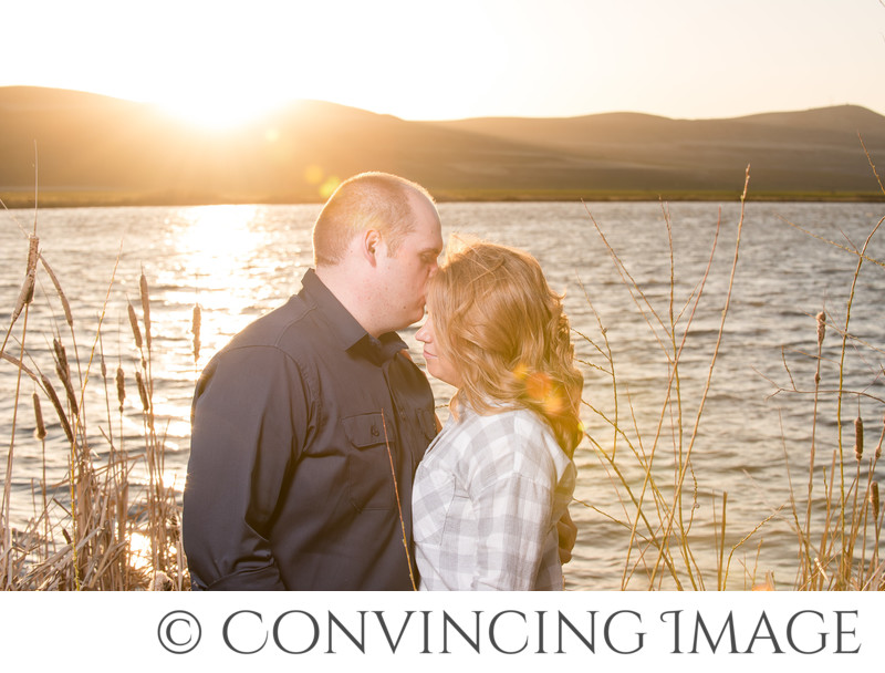 Engagement Photos in Benson, Cache Valley