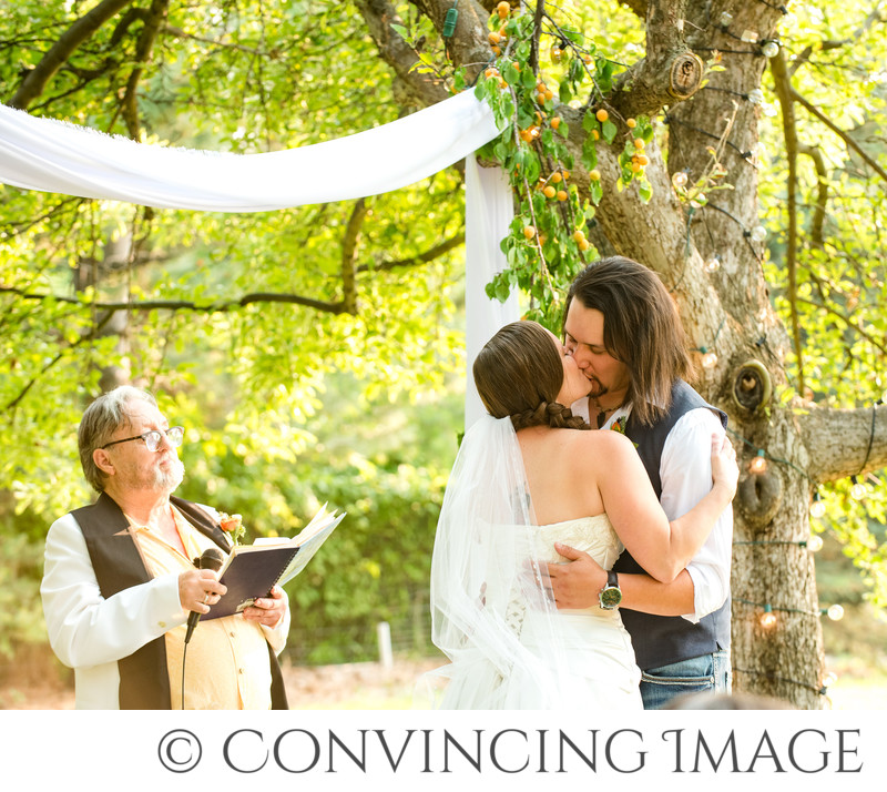 Logan Backyard Ceremony Photographs