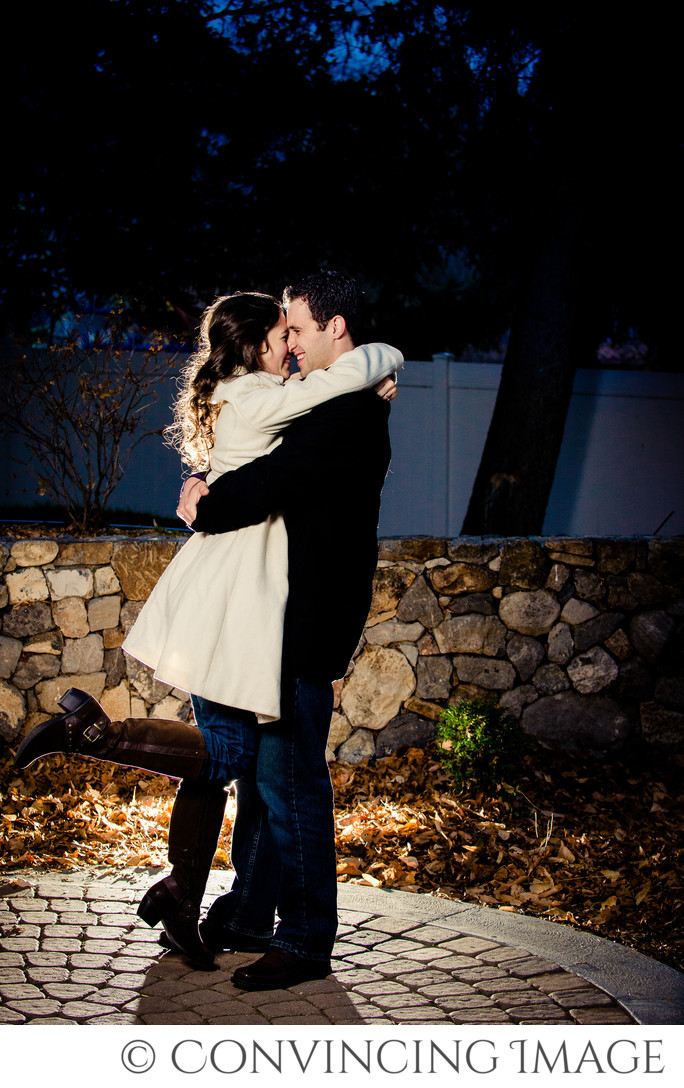 Old Rock Church Utah Engagement Photography