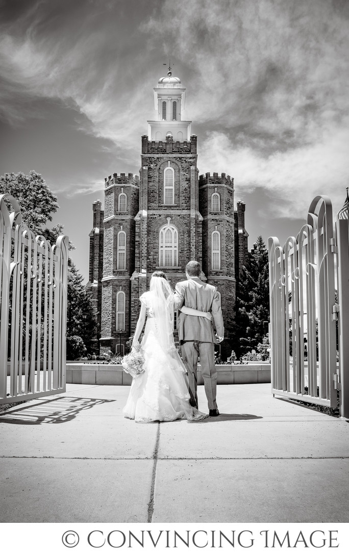 Best Logan Temple Wedding Photography