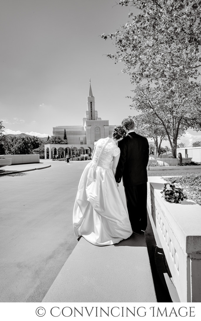 Bountiful Temple Wedding Photography