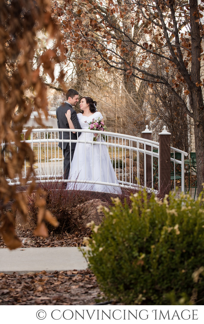 Old Rock Church Utah Wedding Photos