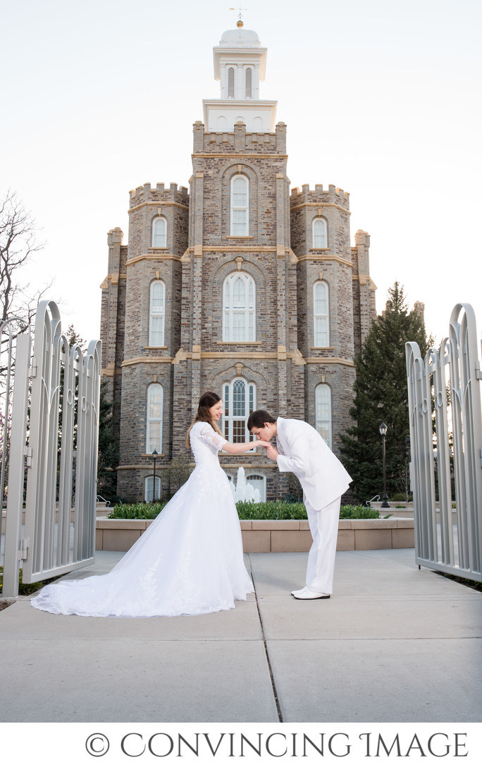 Logan Utah Temple Wedding