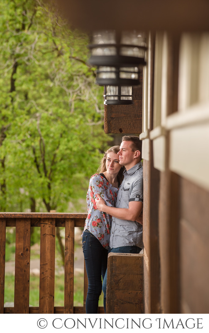 Cherry Peak Resort Engagement Photographer