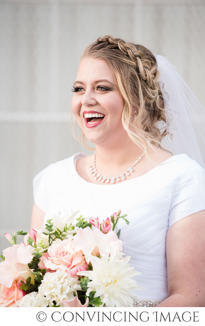 Logan Utah Temple Bridal Photography