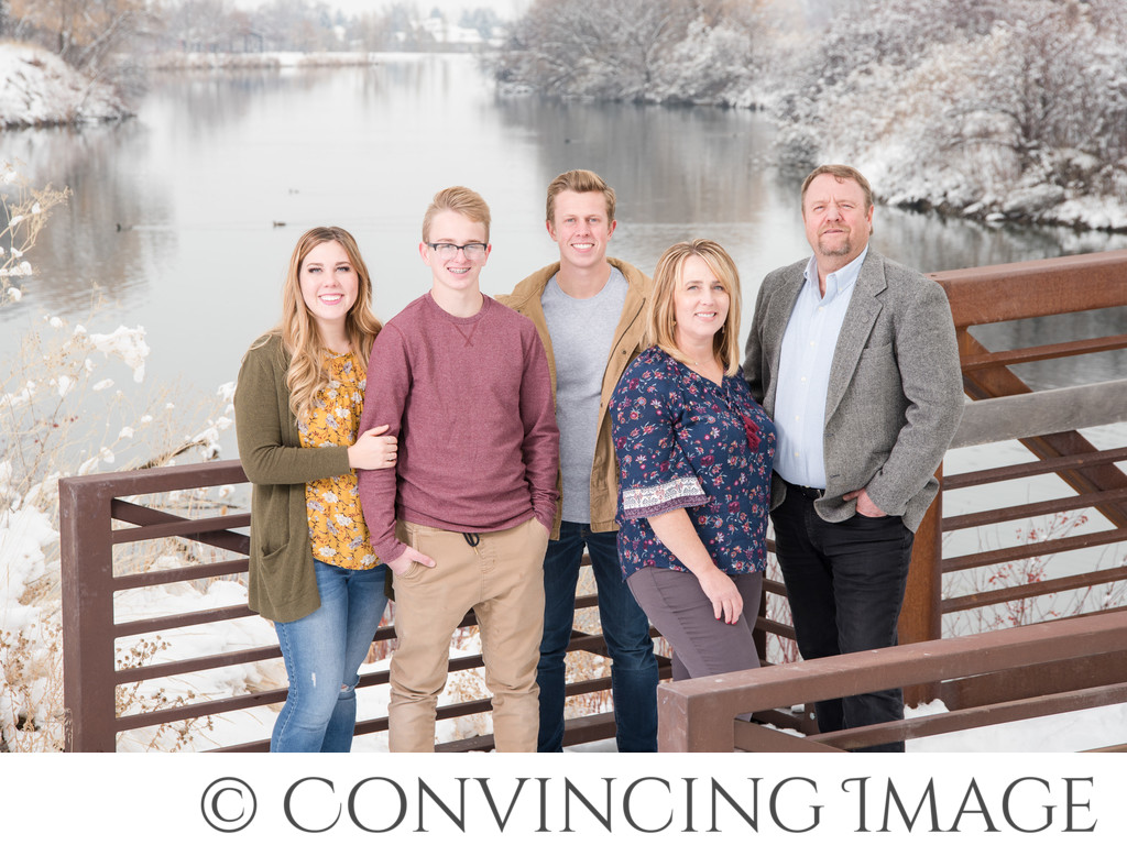 Utah Winter Family Photographer