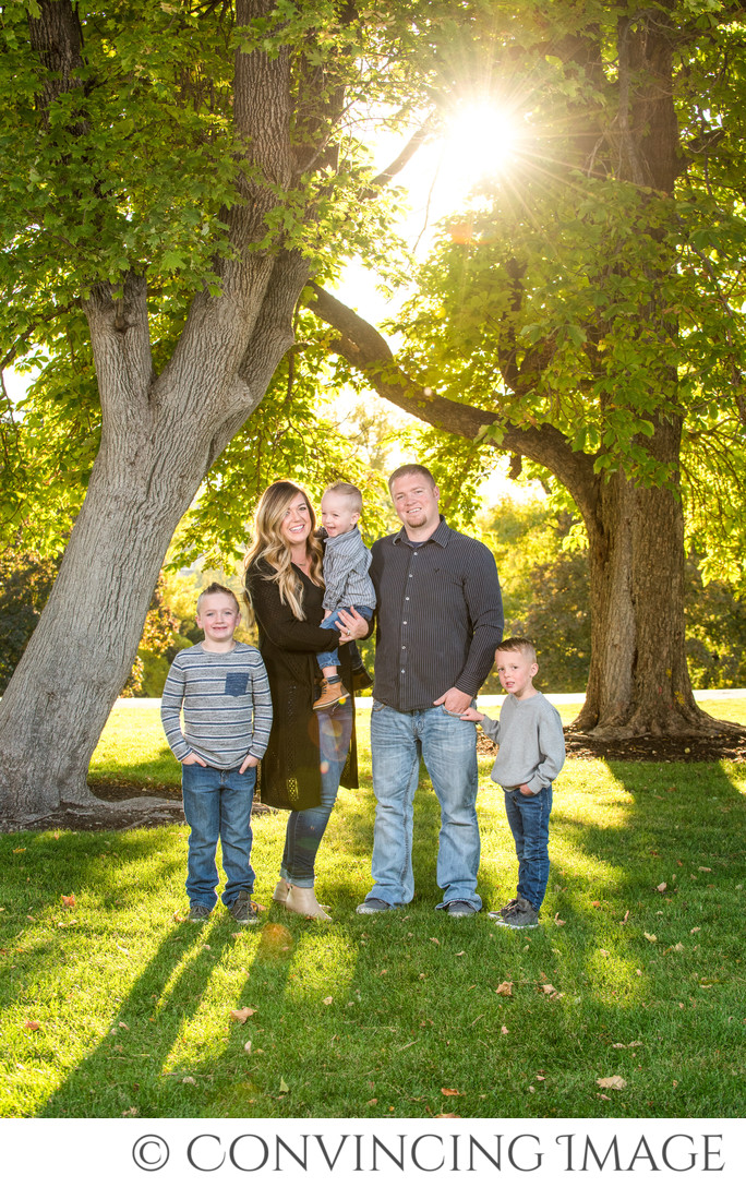 Utah State University Family Photographer
