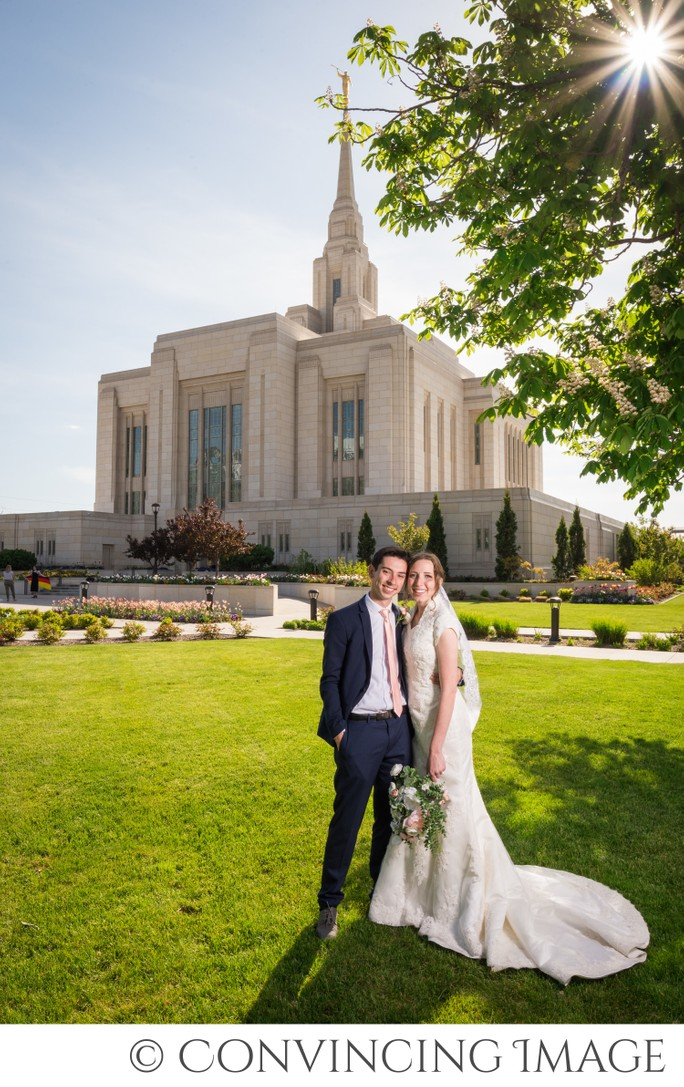 Ogden Temple Wedding Photographer