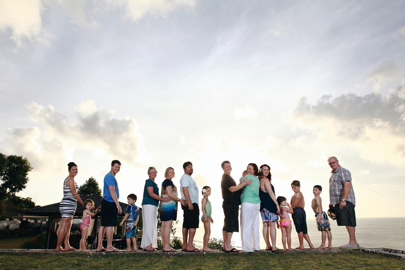 Bali Family Photography Group Families