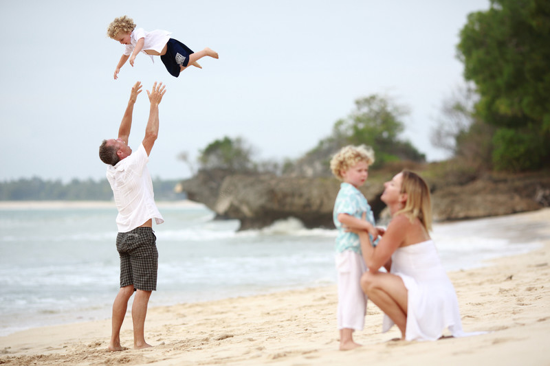 Jimbaran Beach Bali Family Photographer