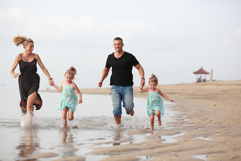 Sanur Beach Family Photographer