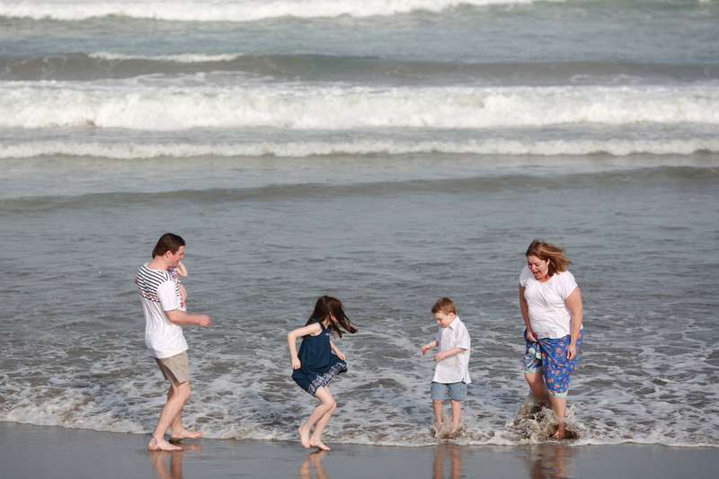 Family Photography in Kuta Beach