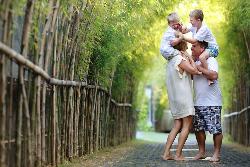 Bali Villa Family Photographer
