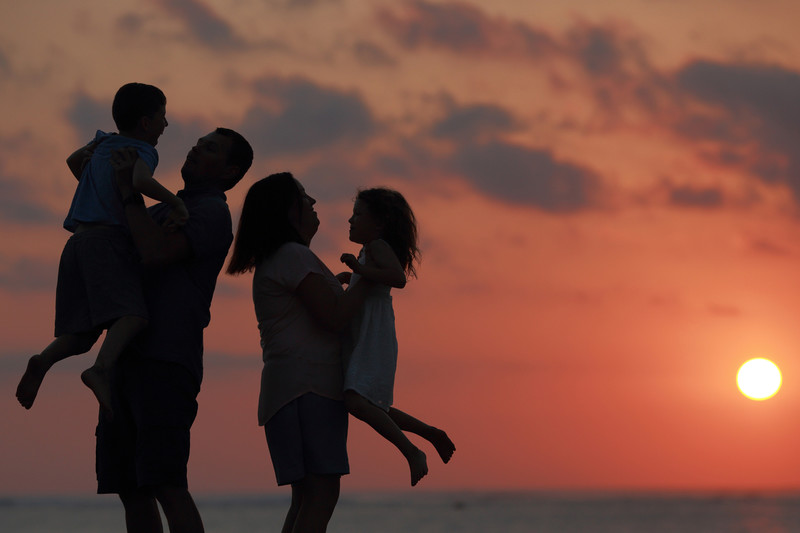 Australian Family Photography in Kuta