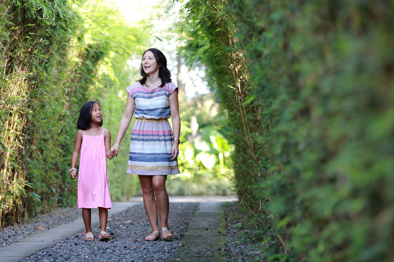 Family Photographer at Villa Bali
