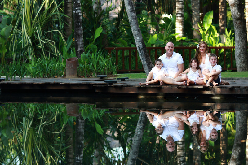 Bali Family Photography in Conrad
