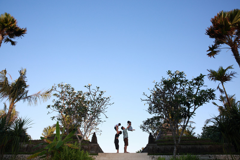 Family Photography Ritz Carlton Bali