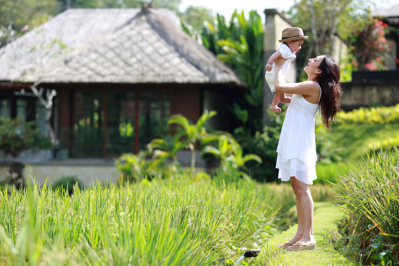 Mandapa Ubud Family Photography