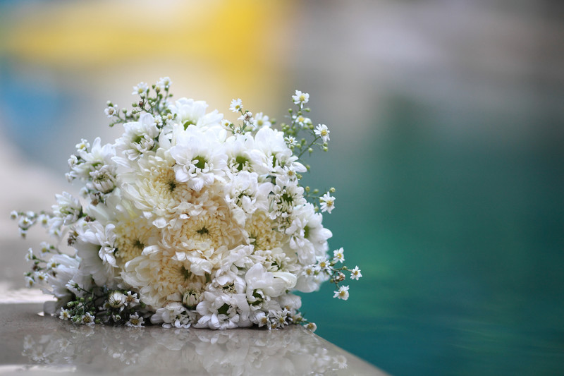 Bali Flower Wedding Photography