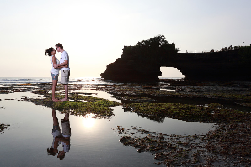 Engagement Session in Tanah Lot