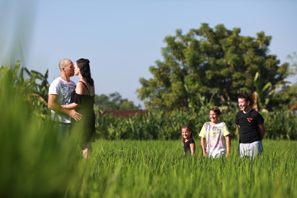 Bali Candid Family Photographer
