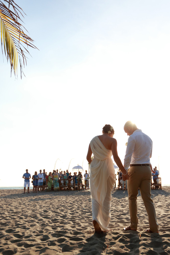 Kuta Beach Wedding Photographer