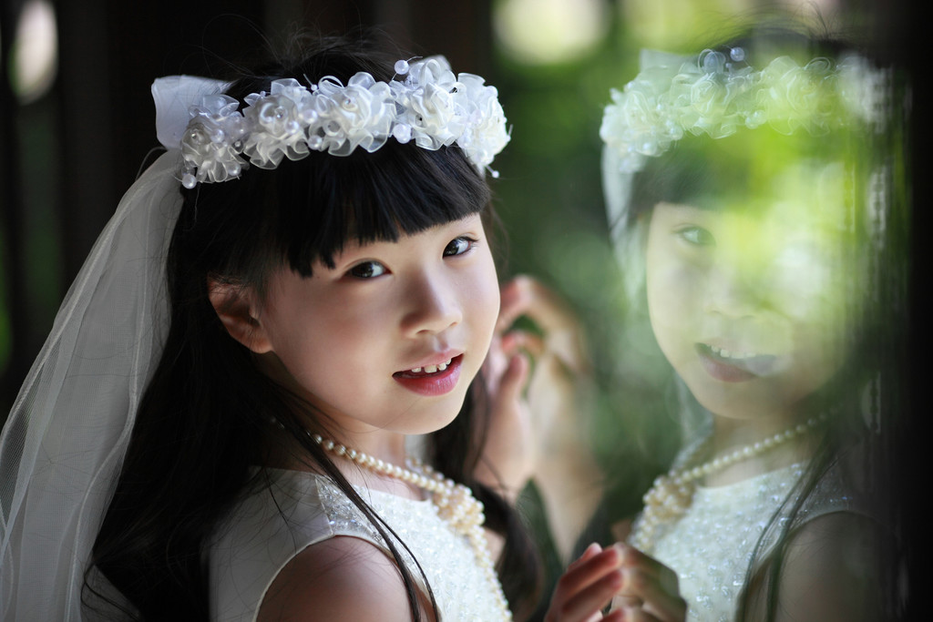 Flower Girl Bali Wedding Photography
